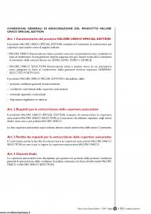 Generali - Valore Unico Special Edition - Modello gvus Edizione 04-12-2009 [84P]