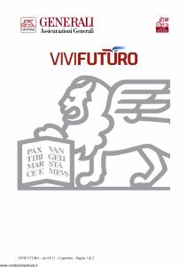 Generali - Vivi Futuro - Modello gvfuvf Edizione 31-05-2011 [32P]
