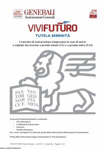 Generali - Vivi Futuro Tutela Serenita' - Modello gvisvf Edizione 03-09-2012 [36P]