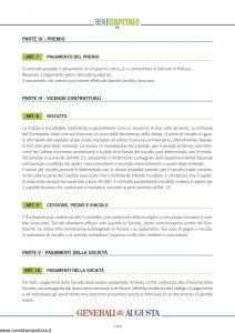 Generali Augusta - Bene Capitale Piu' - Modello av1199e.d12 Edizione nd [8P]