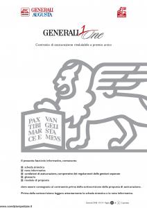 Generali Augusta - Generali One - Modello gvgo augusta Edizione 13-01-2014 [50P]