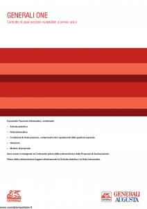 Generali Augusta - Generali One - Modello gvgo augusta Edizione 31-05-2014 [50P]