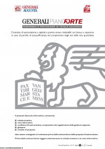 Generali Augusta - Generali Pianoforte - Modello gvgpf augusta Edizione 13-01-2014 [62P]