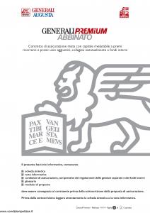 Generali Augusta - Generali Premium Abbinato - Modello gvgpreabb augusta Edizione 13-01-2014 [106P]