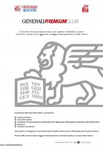 Generali Augusta - Generali Premium Club - Modello gvgprecl augusta Edizione 13-01-2014 [106P]