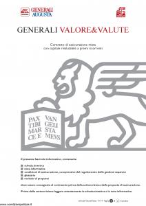 Generali Augusta - Generali Valore & Valute - Modello gvgvev augusta Edizione 13-01-2014 [54P]
