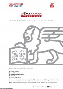 Generali Augusta - Primodomani Protezione - Modello gvpdpr-augusta Edizione 13-01-2014 [46P]