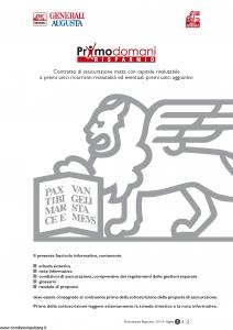 Generali Augusta - Primodomani Risparmio - Modello gvpdri-augusta Edizione 13-01-2014 [58P]