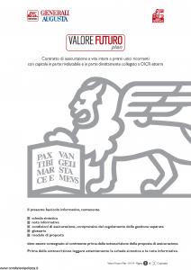 Generali Augusta - Valore Futuro Plan - Modello gvvfp-augusta Edizione 01-2014 [110P]