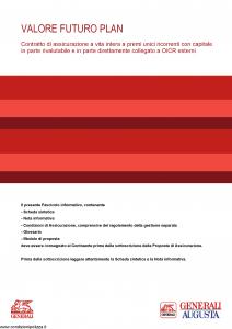 Generali Augusta - Valore Futuro Plan - Modello gvvfp-augusta Edizione 08-08-2014 [106P]