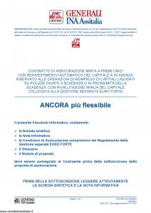 Generali Ina Assitalia - Ancora Piu' Flessibile - Modello midv223 Edizione 01-01-2014 [50P]