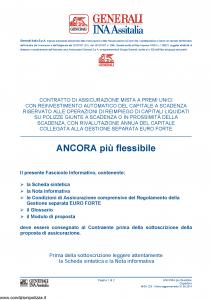 Generali Ina Assitalia - Ancora Piu' Flessibile - Modello midv223 Edizione 31-05-2014 [46P]