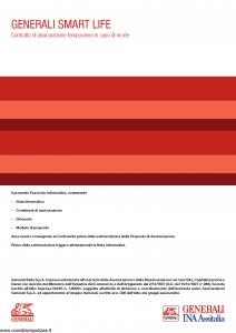 Generali Ina Assitalia - Generali Smart Life - Modello midv 238 Edizione 20-03-2014 [27P]