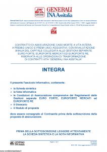 Generali Ina Assitalia - Integra - Modello midv188 Edizione 01-01-2014 [54P]