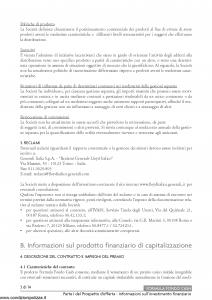 Generali Lloyd Italico - Formula Fondo Cash - Modello s11l-133 Edizione 02-01-2014 [32P]