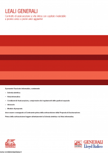 Generali Lloyd Italico - Leali Generali - Modello gvlg-lloyd-ita Edizione 05-2014 [50P]