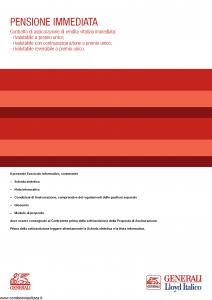 Generali Lloyd Italico - Pensione Immediata - Modello gvpi-lloyd-ita Edizione 12-05-2014 [46P]
