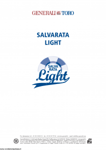 Generali Toro - Salvarata Light Tariffe 452U 453U 454U - Modello f.cpicvita Edizione 01-2014 [11P]