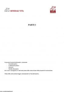 Generali Vita - Cqs Parte 1 - Modello gvcqs Edizione 12-2005 [37P]