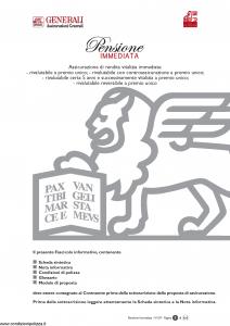 Generali Vita - Pensione Immediata - Modello gvpi Edizione 01-2007 [44P]