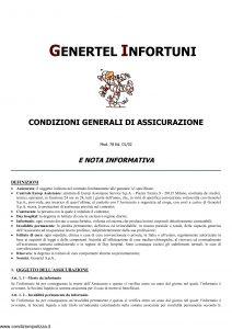 Genertel - Genertel Infortuni - Modello 78 Edizione 01-2002 [7P]
