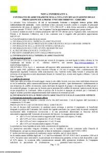 Groupama - Conto Vita Prealpi - Modello 150313-1 Edizione 03-2009 [23P]