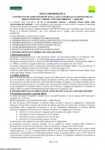 Groupama - Conto Vita Prealpi - Modello 150313-1 Edizione 11-2009 [23P]
