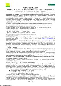 Groupama - Conto Vita Prealpi - Modello 150313 Edizione 03-2008 [23P]