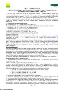 Groupama - Conto Vita Prealpi - Modello 150313 Edizione 03-2009 [23P]