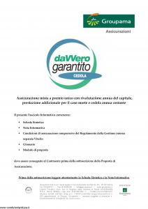Groupama - Davvero Garantito Cedola - Modello 150526 Edizione 03-2009 [35P]