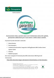 Groupama - Davvero Garantito Cedola - Modello 150526 Edizione 11-2009 [35P]