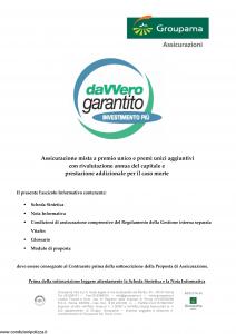 Groupama - Davvero Garantito Investimento Piu' - Modello 150525 Edizione 03-2009 [36P]