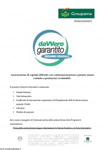 Groupama - Davvero Garantito Risparmio Graduale - Modello 150524 Edizione 03-2009 [34P]