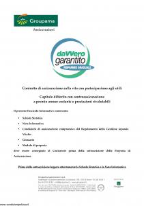 Groupama - Davvero Garantito Risparmio Graduale - Modello 150524 Edizione 05-2011 [33P]