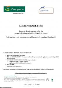 Groupama - Dimensione Flexi - Modello 220226 Edizione 01-2019 [86P]