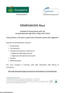 Groupama - Dimensione Maxi - Modello 220288 Edizione 03-2016 [86P]