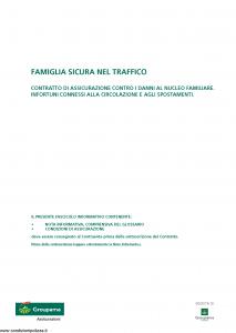 Groupama - Famiglia Sicura Nel Traffico - Modello 0006c Edizione 06-2012 [13P]