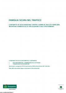 Groupama - Famiglia Sicura Nel Traffico - Modello 0006c Edizione 12-2010 [13P]