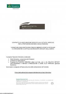 Groupama - Piu' Protetti Agricoltura Coltivazioni Arboree - Modello 220170c Edizione 03-2013 [27P]