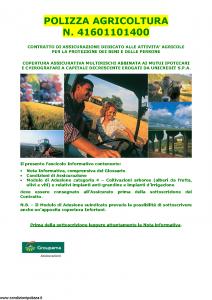 Groupama - Polizza Agricoltura 41601101400 Coltivazioni Arboree - Modello 150148I Edizione 05-2015 [35P]