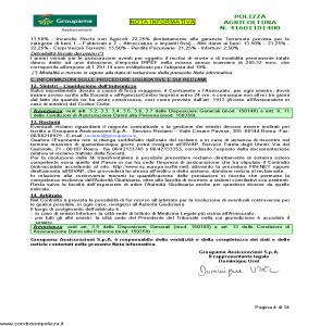 Groupama - Polizza Agricoltura 41601101400 Coltivazioni Arboree - Modello 150148I Edizione 10-2014 [35P]