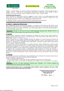 Groupama - Polizza Agricoltura 41601101400 Danni A Coltivazioni Arboree - Modello 150148I Edizione 04-2012 [35P]