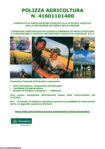 Groupama - Polizza Agricoltura 41601101400 Fabbricati - Modello 150148I Edizione 05-2015 [40P]