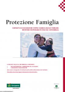 Groupama - Protezione Famiglia - Modello 13.65 Edizione 10-2011 [34P]