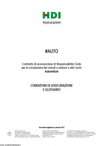 Hdi - Auto - Modello a3066 Edizione 01-2019 [36P]