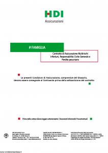 Hdi - Famiglia - Modello s4261 Edizione 01-2019 [23P]