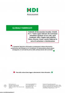Hdi - Globale Fabbricati - Modello p5061 Edizione 05-2014 [42P]
