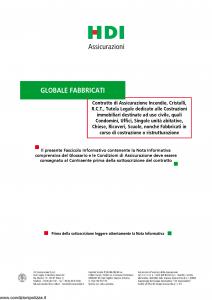 Hdi - Globale Fabbricati - Modello p5061 Edizione 06-2015 [42P]
