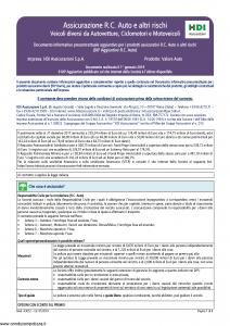 Hdi - Valore Auto Dip Aggiuntivo - Modello a3052 Edizione 01-2019 [8P]