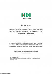 Hdi - Valore Auto - Modello a3002 Edizione 07-2016 [108P]